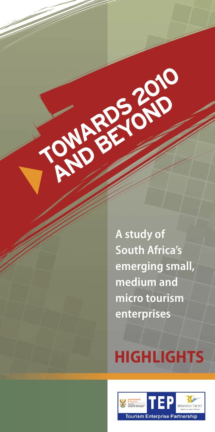 010        2 D       S N      D O    R Y   A E OWD BT N A      A study of      South Africa's      emerging small,      me...