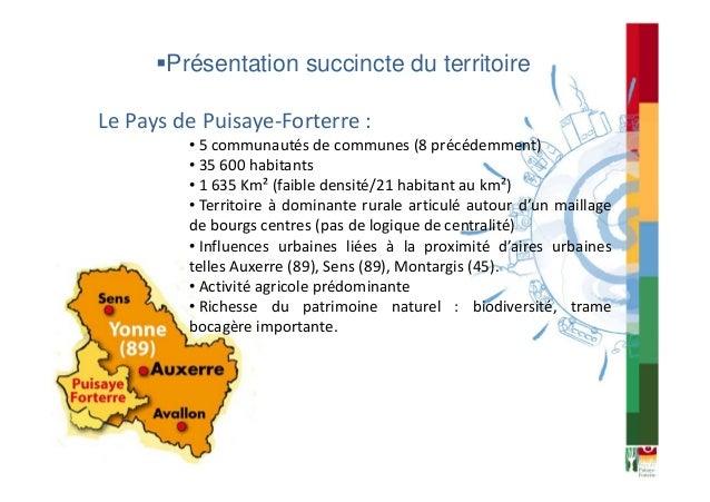 Le Pays de Puisaye-Forterre : territoire d'expérimentation pour un aménagement durable de l'espace rural Slide 2