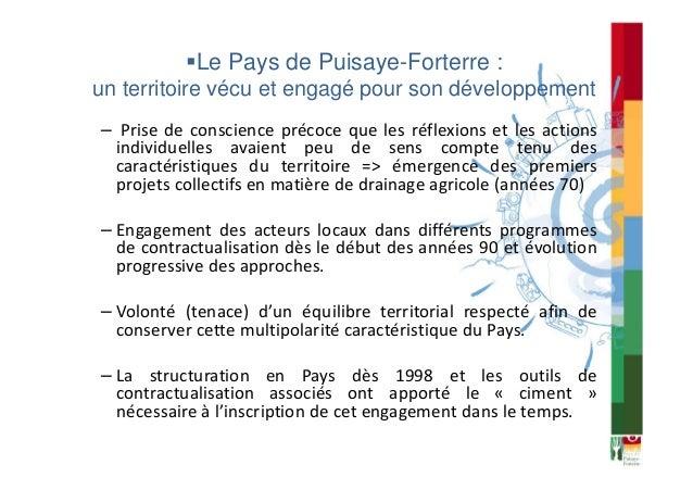 Le Pays de Puisaye-Forterre : territoire d'expérimentation pour un aménagement durable de l'espace rural Slide 3