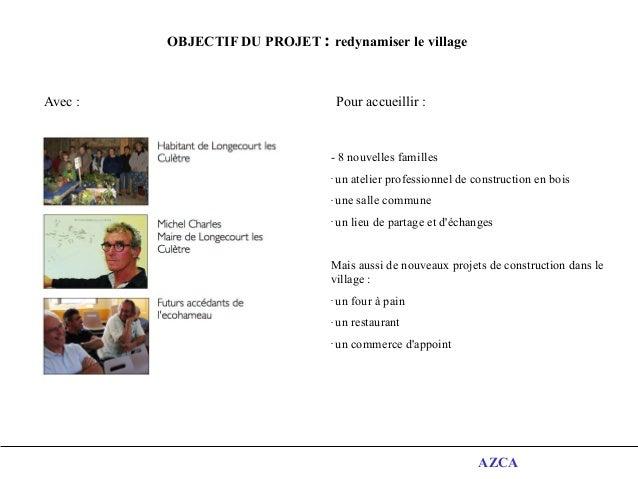 Eco-hameau de Longecourt-les-Culêtre: une vision holistique et une conception participative  Slide 2