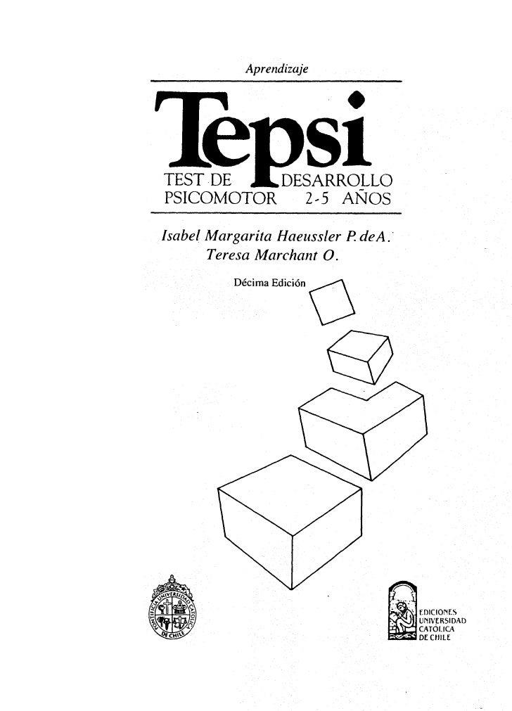 Tepsi manual