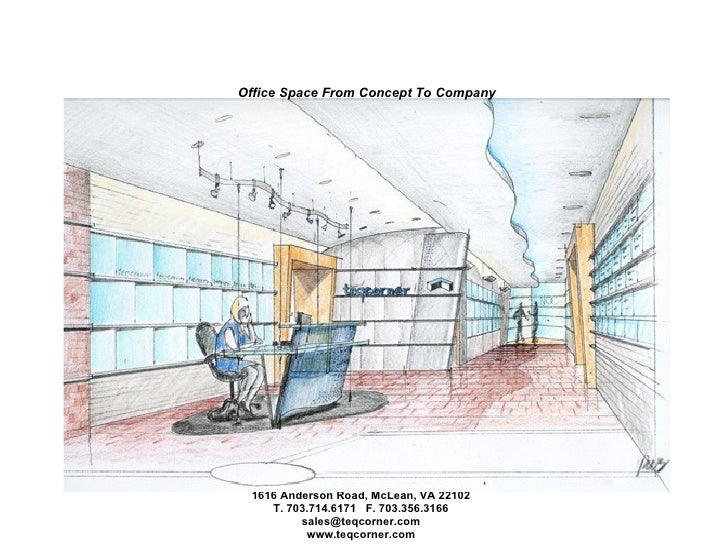 Office Space From Concept To Company