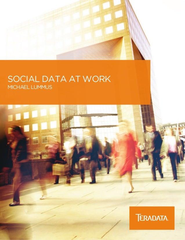 social data at work Michael Lummus