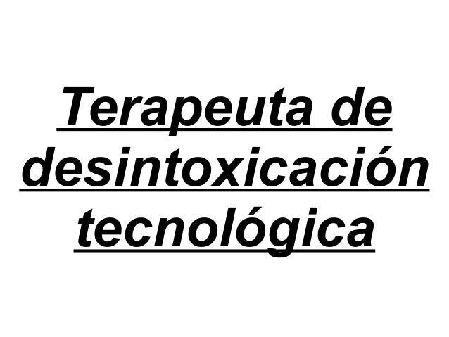 Terapeuta de desintoxicación tecnológica