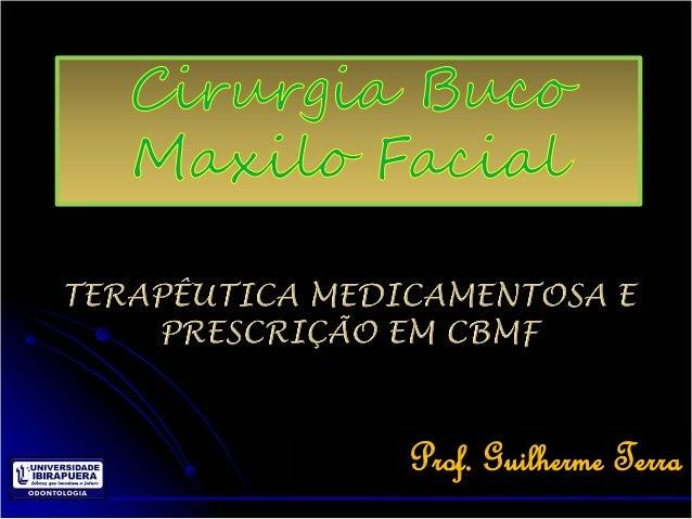 terapeutica medicamentosa em odontologia