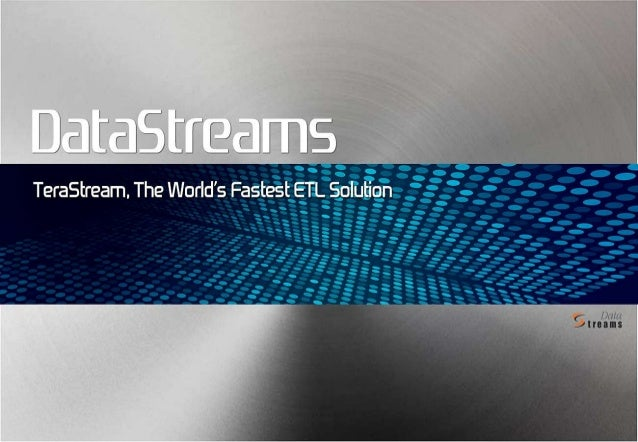© 2012 DataStreams Corp. All Rights Reserved.