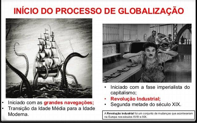 """PROBLEMATIZAÇÕES ACERCA DA GLOBALIZAÇÃO E """"ALDEIA GLOBAL"""" Slide 3"""