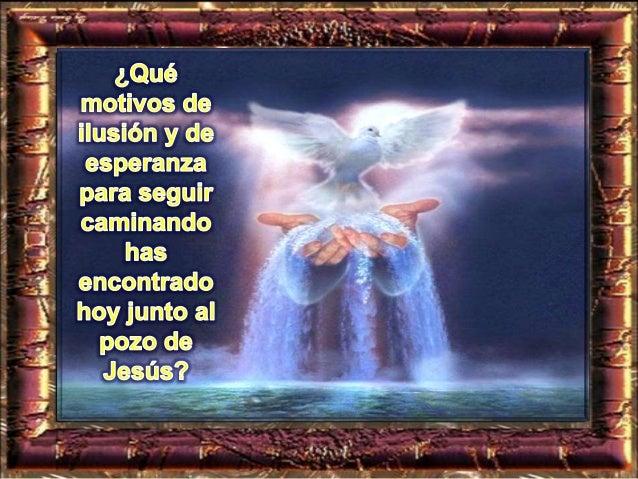 Entre, postrémonos por tierra, bendiciendo al Señor, creador nuestro. Porque él es nuestro Dios, y nosotros su pueblo, el ...