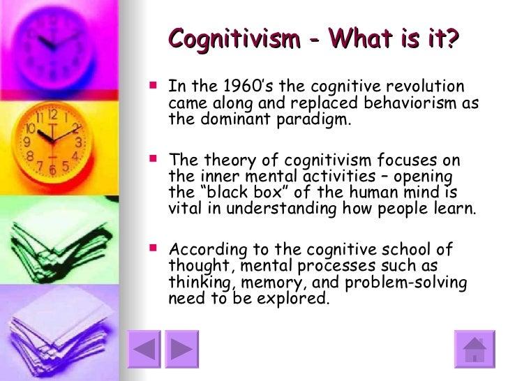 humanism cognitivism and behaviourism H809: behaviourism, cognitivism, constructivism, connectivism, humanism and design based learning.