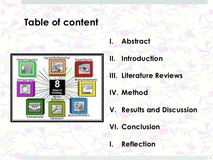 Students' diverse learning styles in learning English as a second language Slide 3