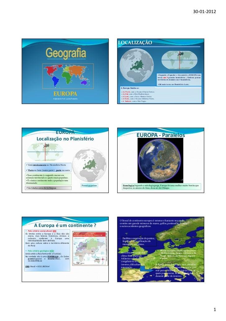 30-01-2012                                                                                      LOCALIZAÇÃO               ...