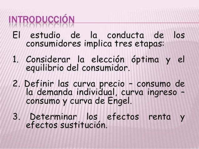 Teoria del consumidor ensayo