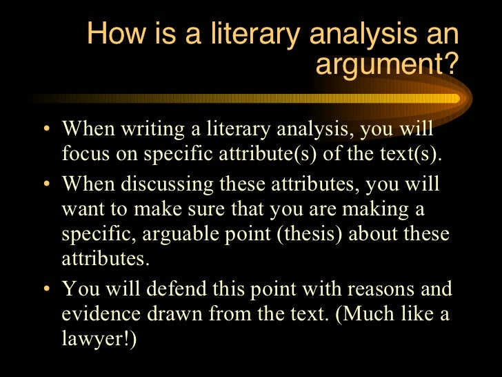 literary terms thesis Literary terms literary theory and purdue owl staff last edited: to write your thesis statement, all you have to do is turn the question and answer around.