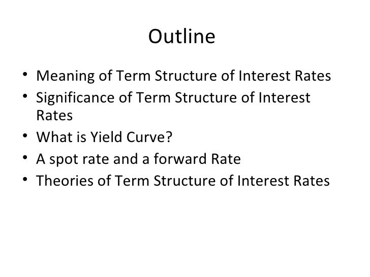Term  Structure Of  Interest  Rate Slide 2