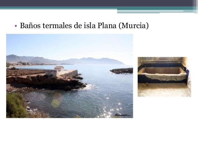 Baños Termales En Murcia   Termas Romanas En La Peninsula Iberica Fin