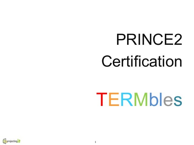 PRINCE2 key terms and free revision notes to pass the