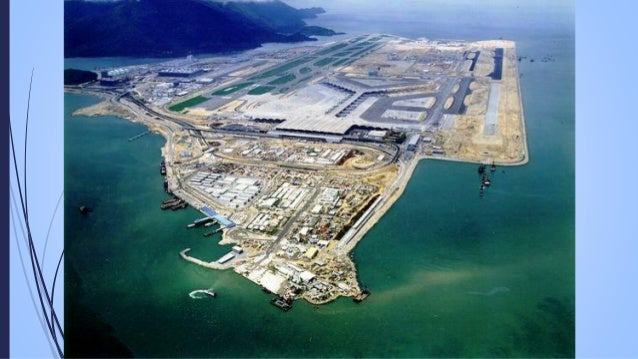 8  The World's Largest Airport Terminal  The Hong Kong International Airport passenger terminal building is 1.3 km long a...
