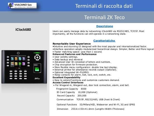 Terminali di raccolta dati ZK Teco