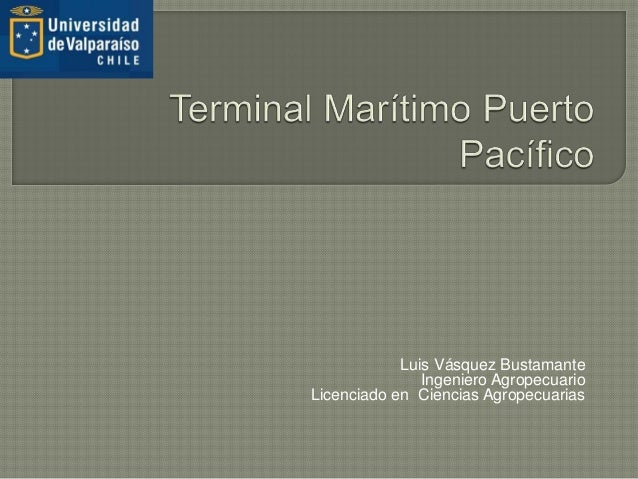 Luis Vásquez Bustamante Ingeniero Agropecuario Licenciado en Ciencias Agropecuarias