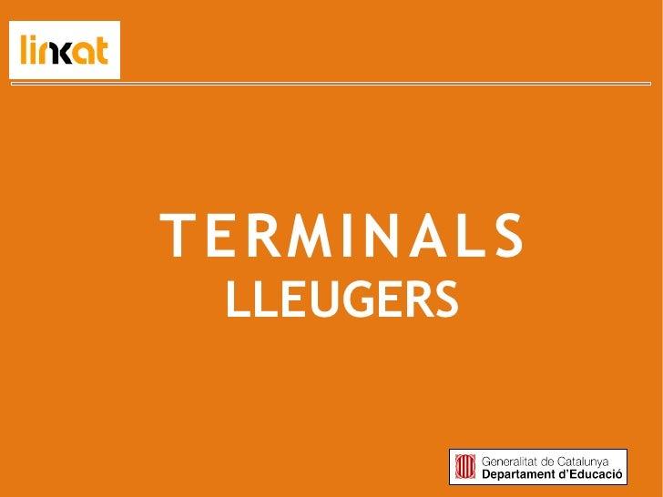 TERMINALS LLEUGERS