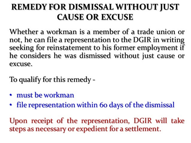 """CONSTRUCTIVE DISMISSAL """"An employer does not like a workman. He does not want to dismiss him and face the consequences. He..."""