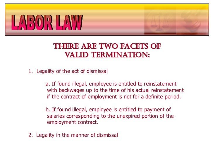 Termination legality in the manner of dismissal 25 spiritdancerdesigns Images