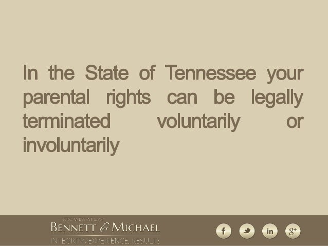 parental rights papers termination Every state has statutes providing for the termination of parental rights by a court termination of parental rights, which can be voluntary or involuntary, ends the.