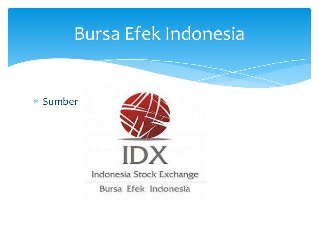  Sumber Bursa Efek Indonesia