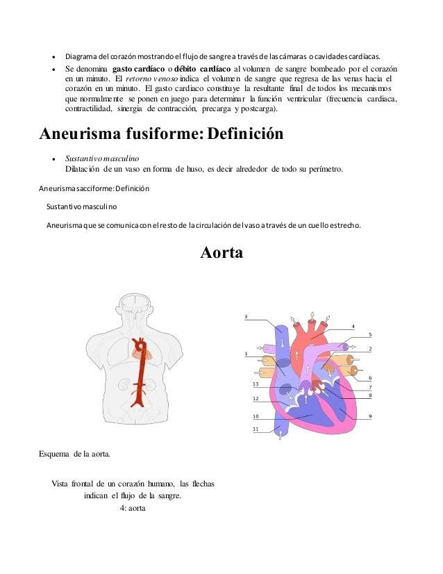 Terminología cardiovascular