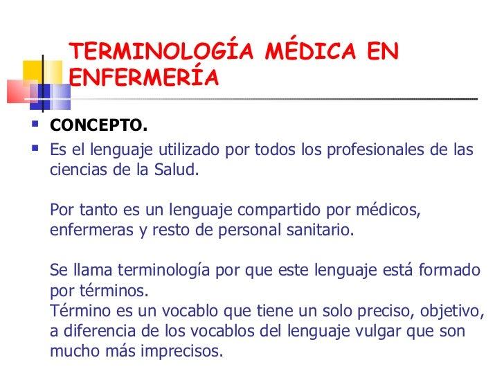 Terminologia quirurgica for Terminologia gastronomica pdf