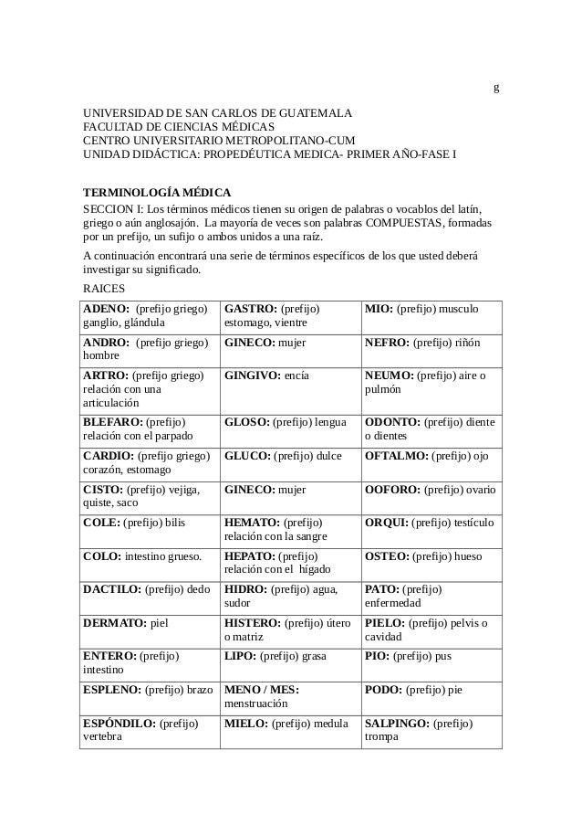 g UNIVERSIDAD DE SAN CARLOS DE GUATEMALA FACULTAD DE CIENCIAS MÉDICAS CENTRO UNIVERSITARIO METROPOLITANO-CUM UNIDAD DIDÁCT...