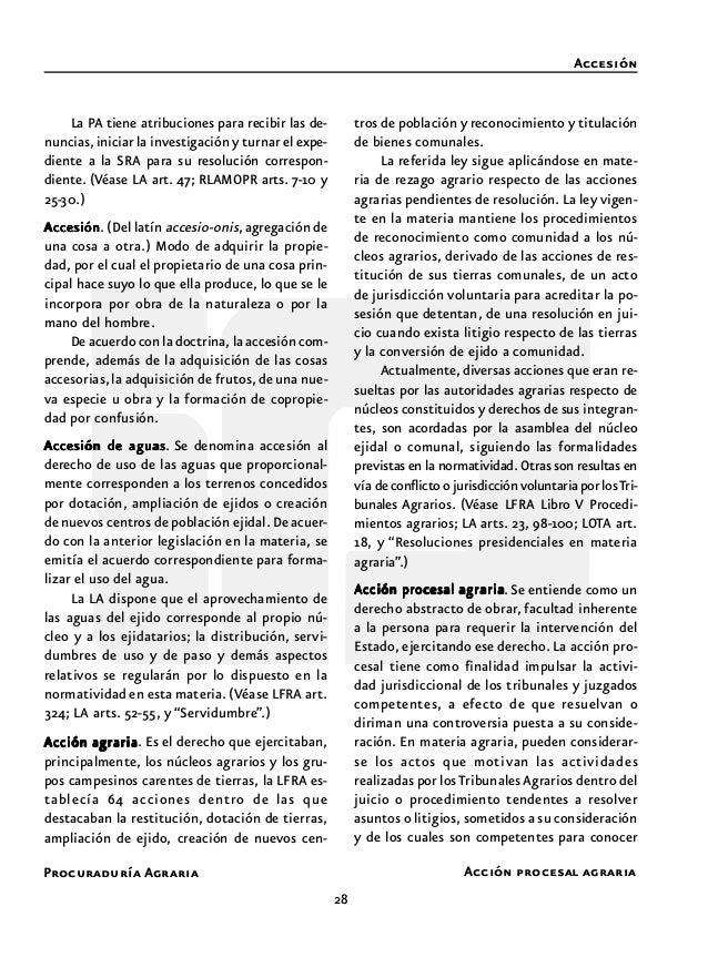 Procuraduría Agraria 30 Aceptación de ejidatario o comunero Acta de ejecución Aceptación de ejidatario o comuneroAceptació...