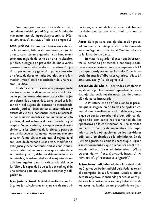 Procuraduría Agraria 34 De aplicación supletoria a la legislación fe- deral civil adjetiva en materia agraria, de pre- sen...