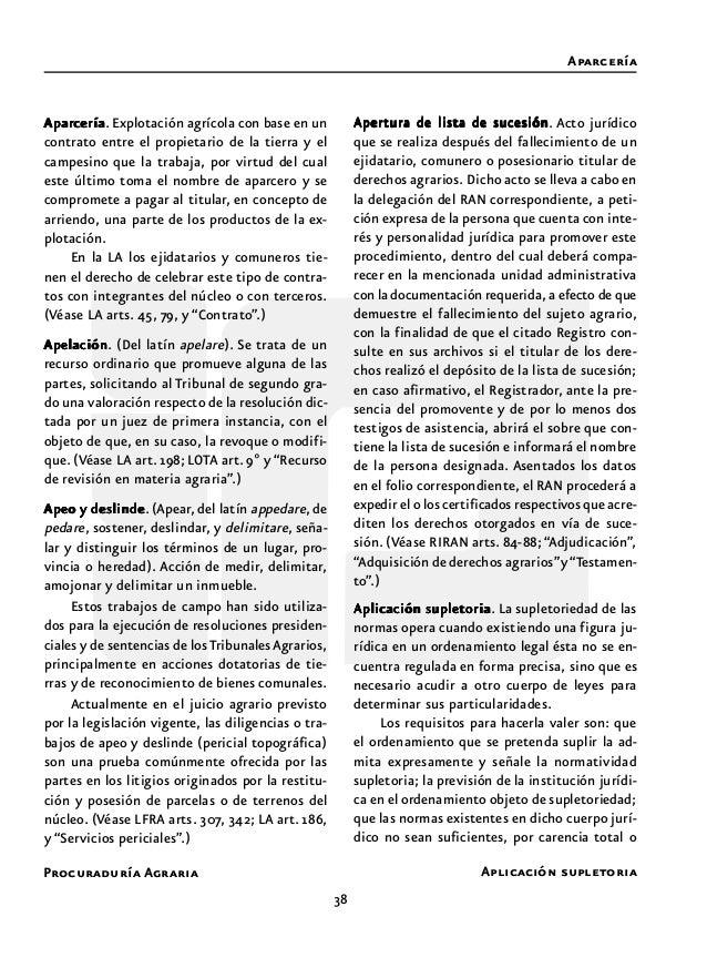 Procuraduría Agraria 40 Artículo 27 constitucionalArtículo 27 constitucionalArtículo 27 constitucionalArtículo 27 constitu...