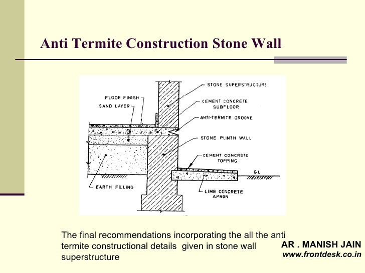 pre construction anti termite treatment procedure pdf