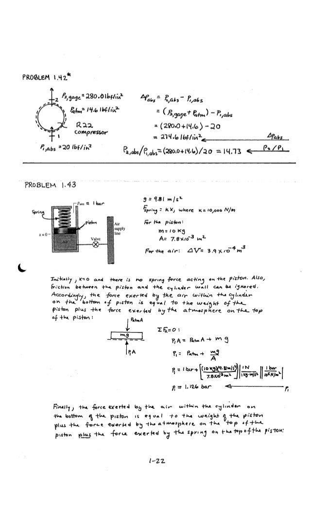 solucionario fundamentos de termodinamica tecnica moran shapiro
