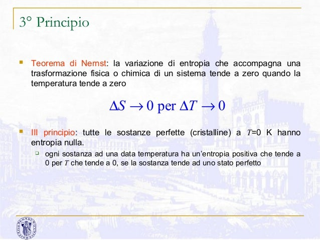 Teorema di nernst