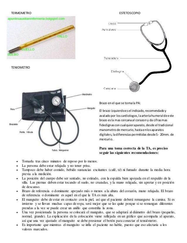 Termometroestetoscopio partes for Partes de un vivero forestal