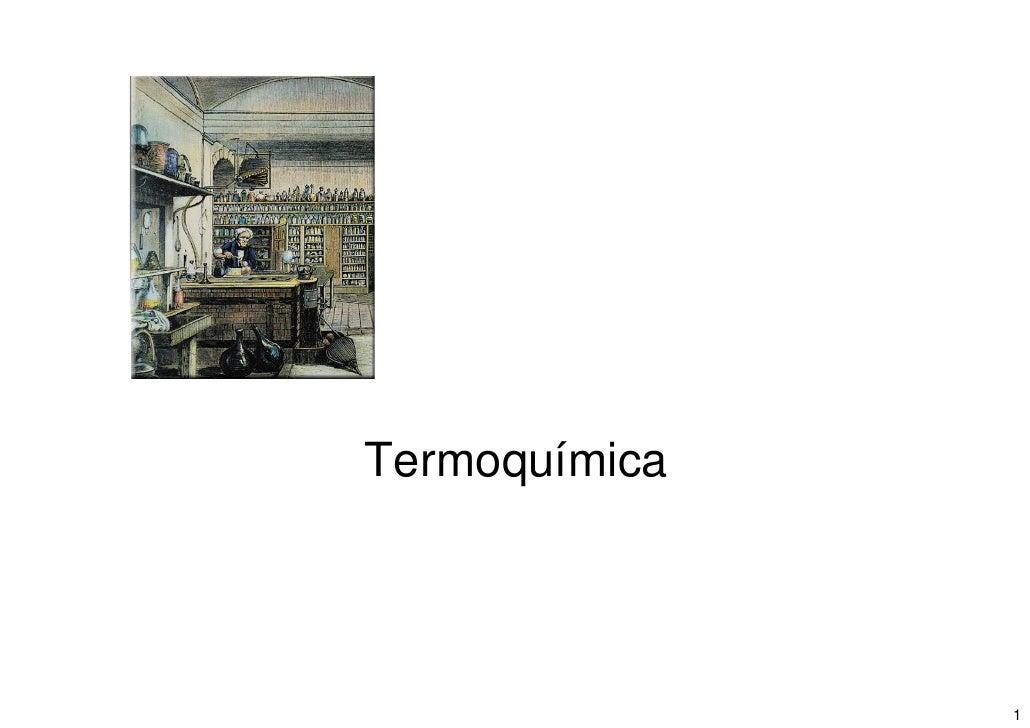 Termoquímica                    1