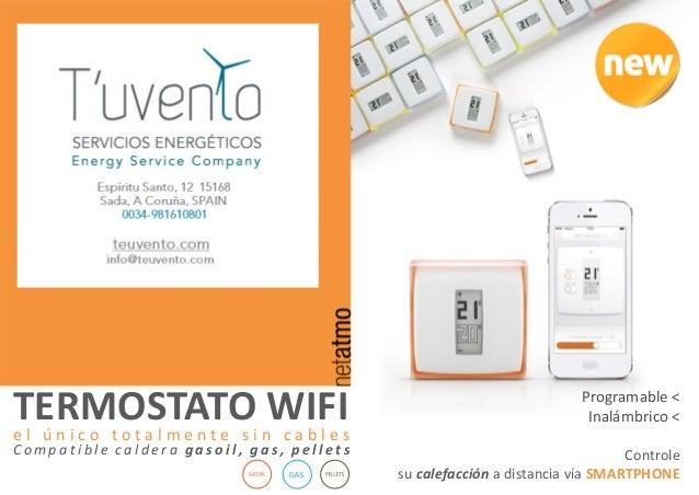 Termostato wifi para controlar calefacci n desde tu smartphone - Cambiar termostato calefaccion ...