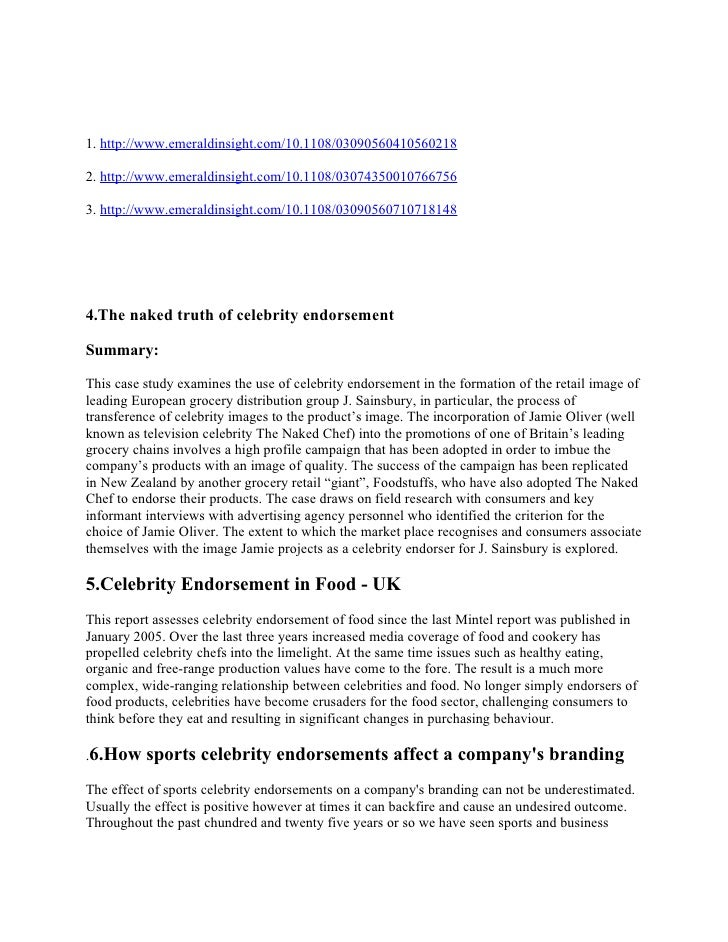 Who Is the Celebrity Endorser? Cultural Foundations of the ...