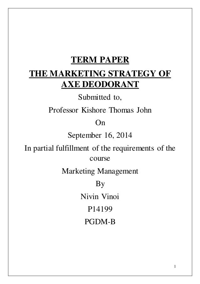 term papers on apple