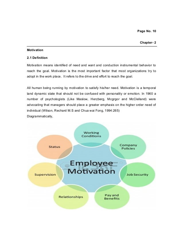 workplace motivation paper This research paper will explain to you about the motivation in the workplace in order to have success in the workplace todays workplace, you have to have an understanding of how to establish morale that will produce high results from employees and overall company results motivation is the key to .