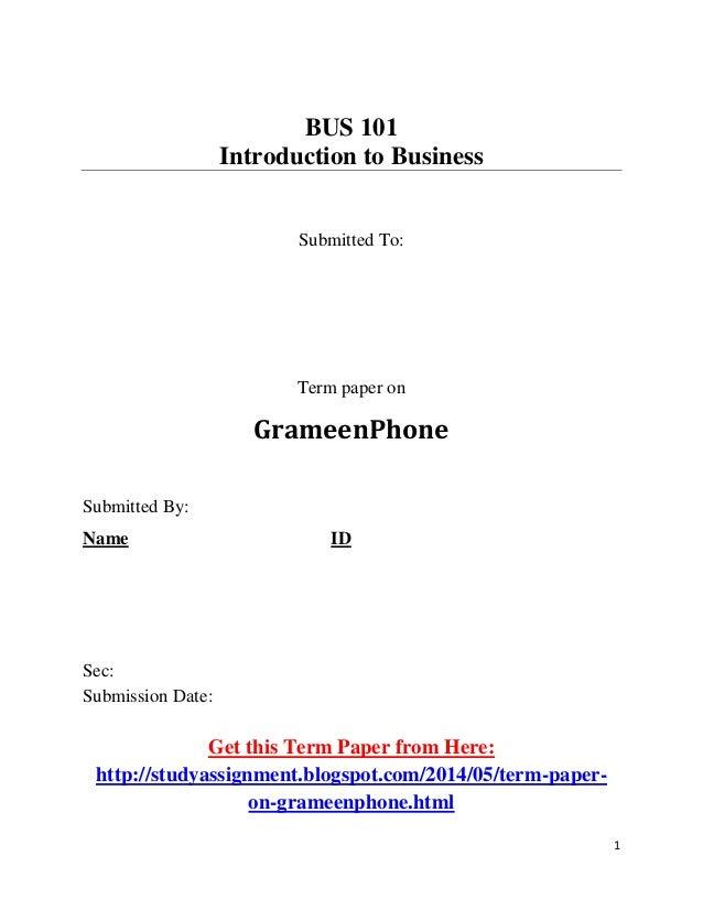 cabin enterprises term paper