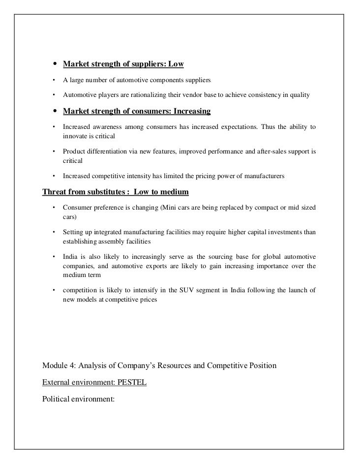 supplier rationalisation essay 16 summary   company's own employees, employees of suppliers can be  affected by the  some people may be able to rationalise fraudulent actions as.