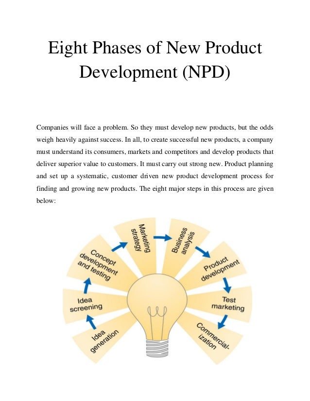effective new product development 8 step process perfects new product development having the following eight ingredients mixed into your team's new product and it's effective.