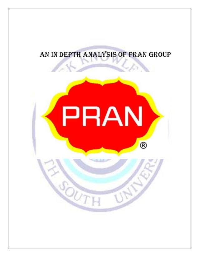 Term paper on pran