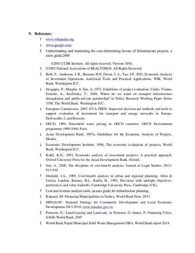paper on real state development rh slideshare net