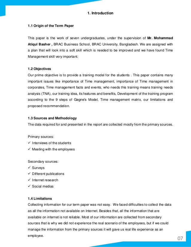 Term paper on time management toefl ibt practice test 1 reading answers
