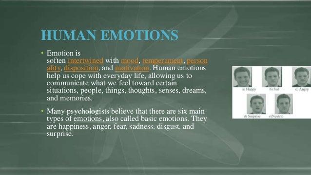six main emotions